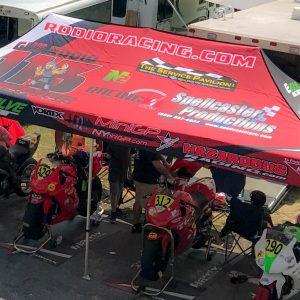 Hazardous Racing Custom Canopies