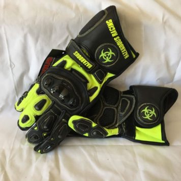 Alpha Cowhide Black & Hi-Viz Yellow