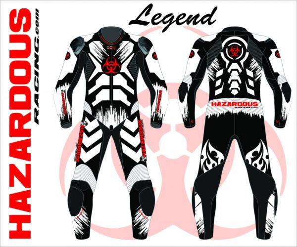 Podium Custom Race Suit Legend Design
