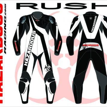 Podium Custom Race Suit Rush Design