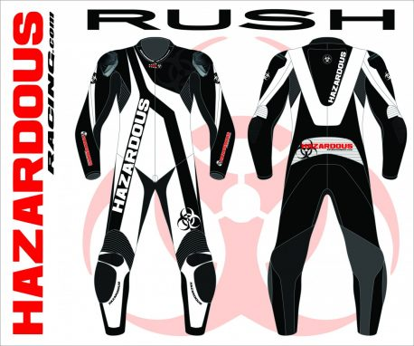Podium Custom Race Suit Rush Design