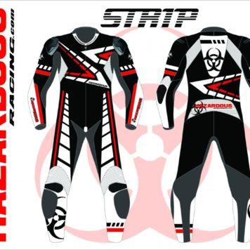 Podium Custom Race Suit Strip Design