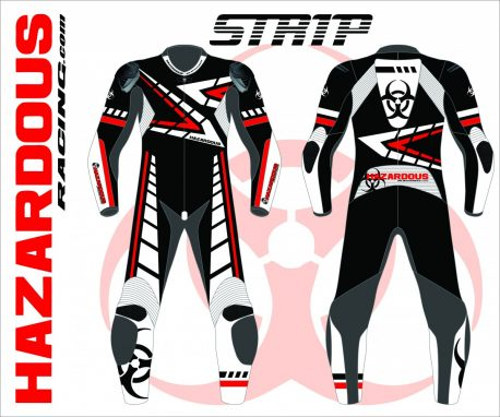 Podium Custom Race Suit Strip Design